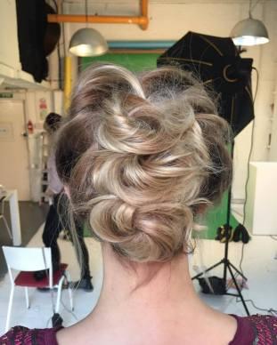 Stylish Hair up details